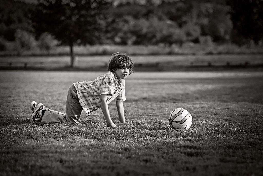 Fußballkinder